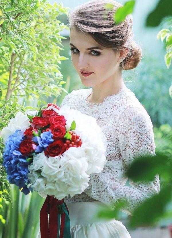 """Букет невесты """"Гортензия"""""""