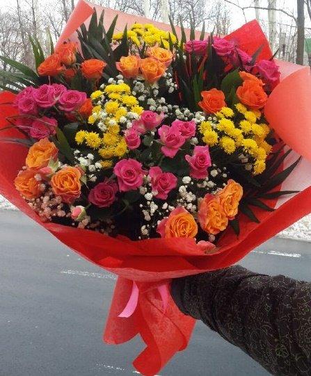 Магазин цветов васильков, цветы подарить