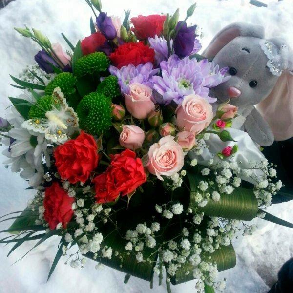 Магазин цветов васильков