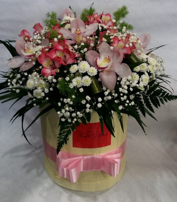 """Коробка """"Орхидея"""""""