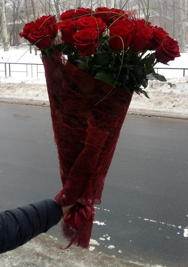 """Букет """"21 красная роза"""""""